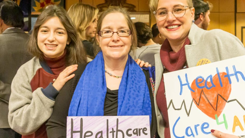 fighting for healthcare for all